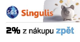 Jsme partnerský e-shop SINGULIS. Registrujte se i Vy a šetřete své peníze!