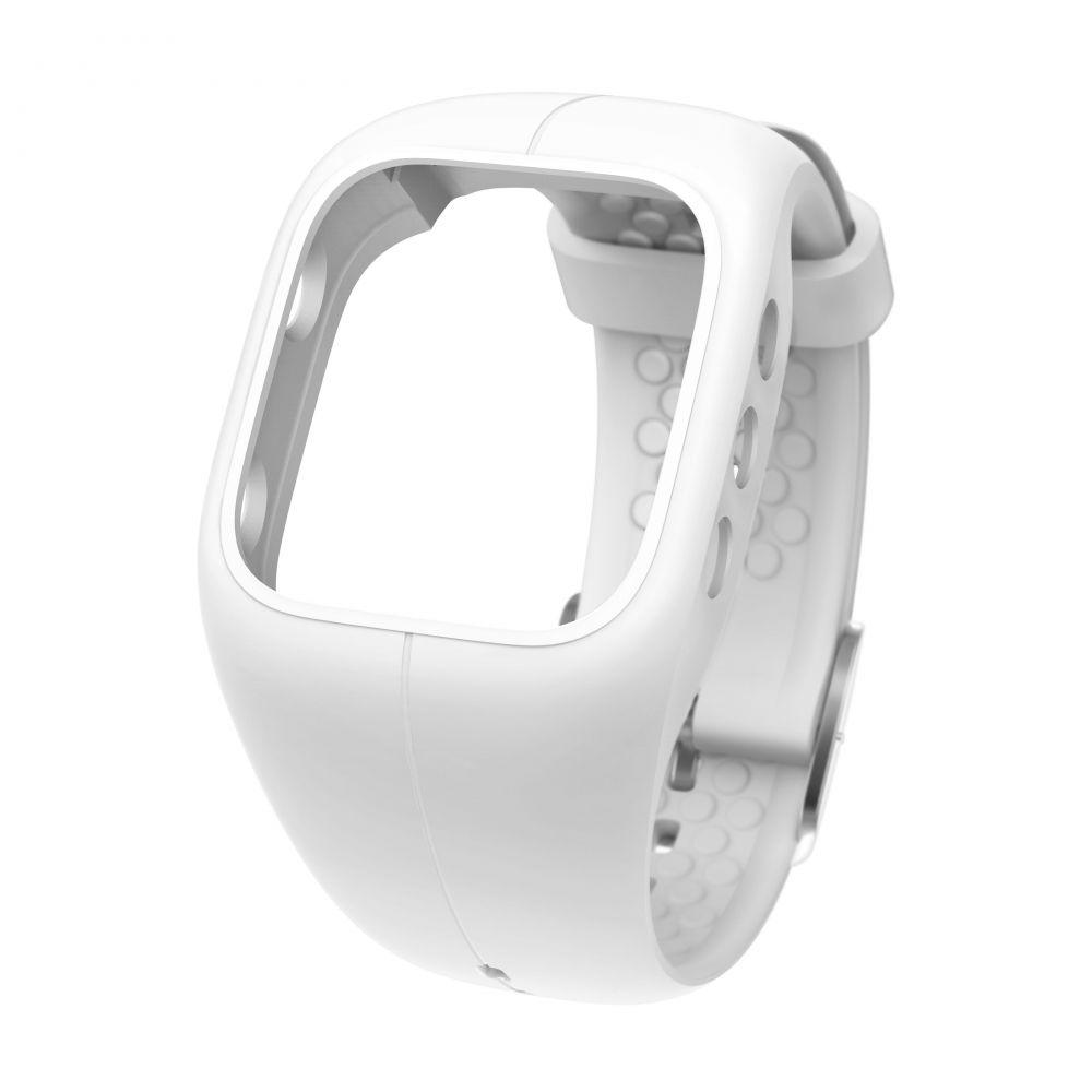 POLAR A300 HR - sportovní hodinky BÍLÉ