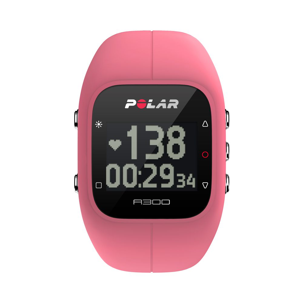 POLAR A300 HR - sportovní hodinky RŮŽOVÉ
