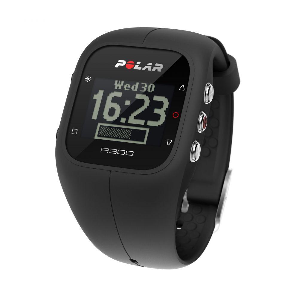 POLAR A300 HR - sportovní hodinky ČERNÉ