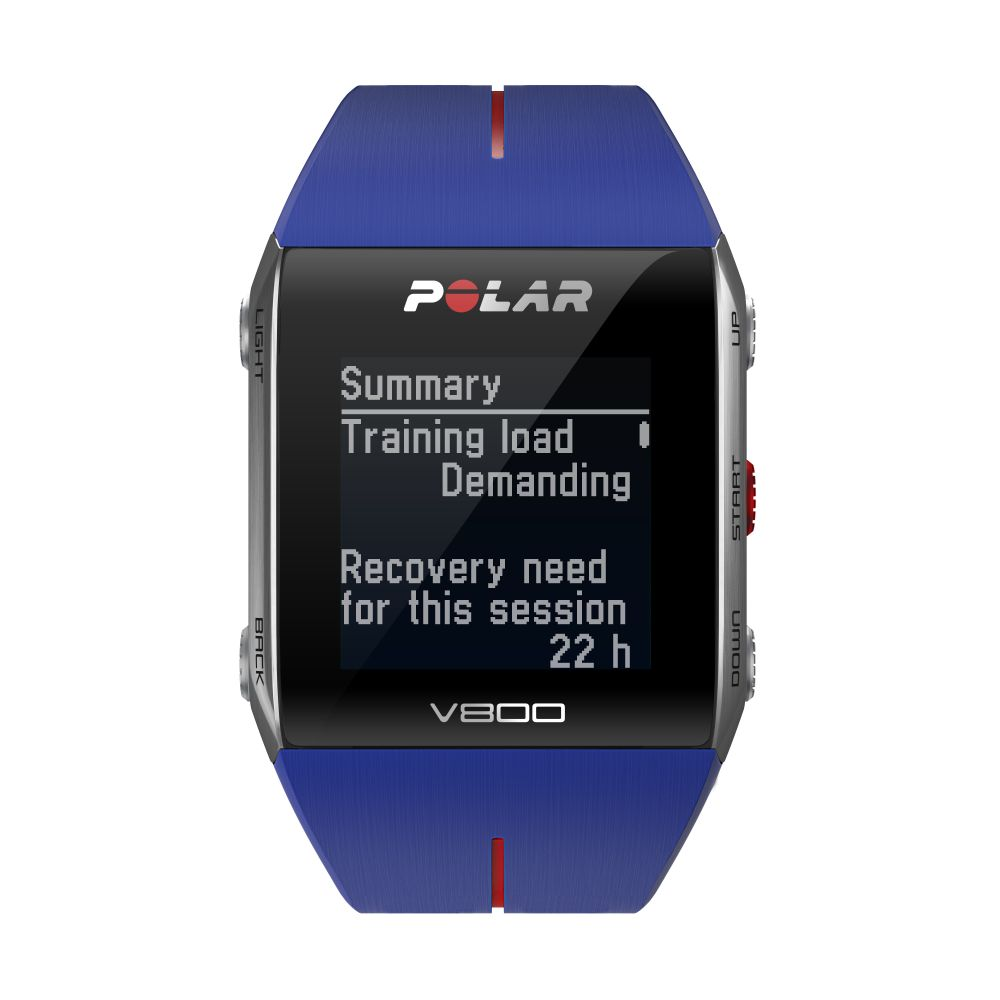 POLAR V800 - sportovní hodinky MODRÉ