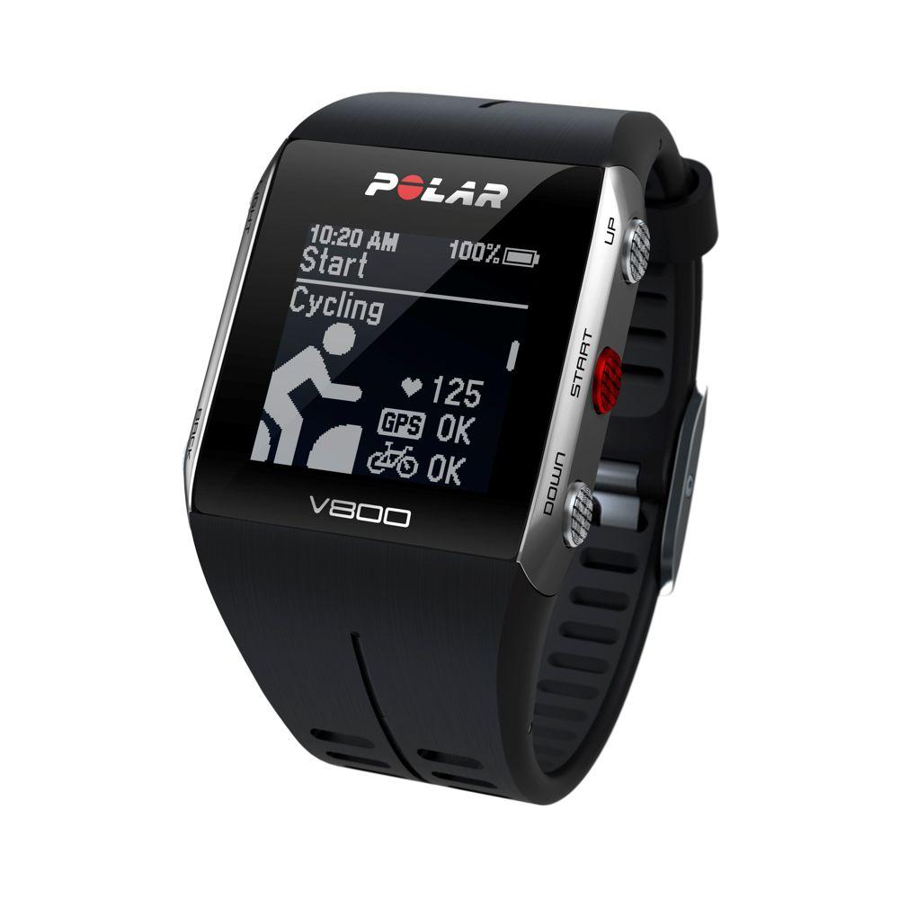 POLAR V800 - sportovní hodinky ČERNÉ