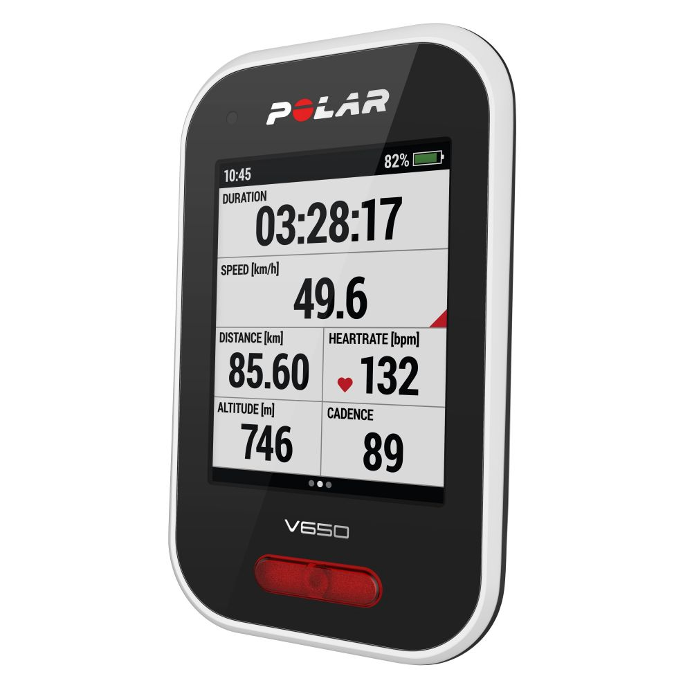 POLAR V650 - cyklocomputer s GPS