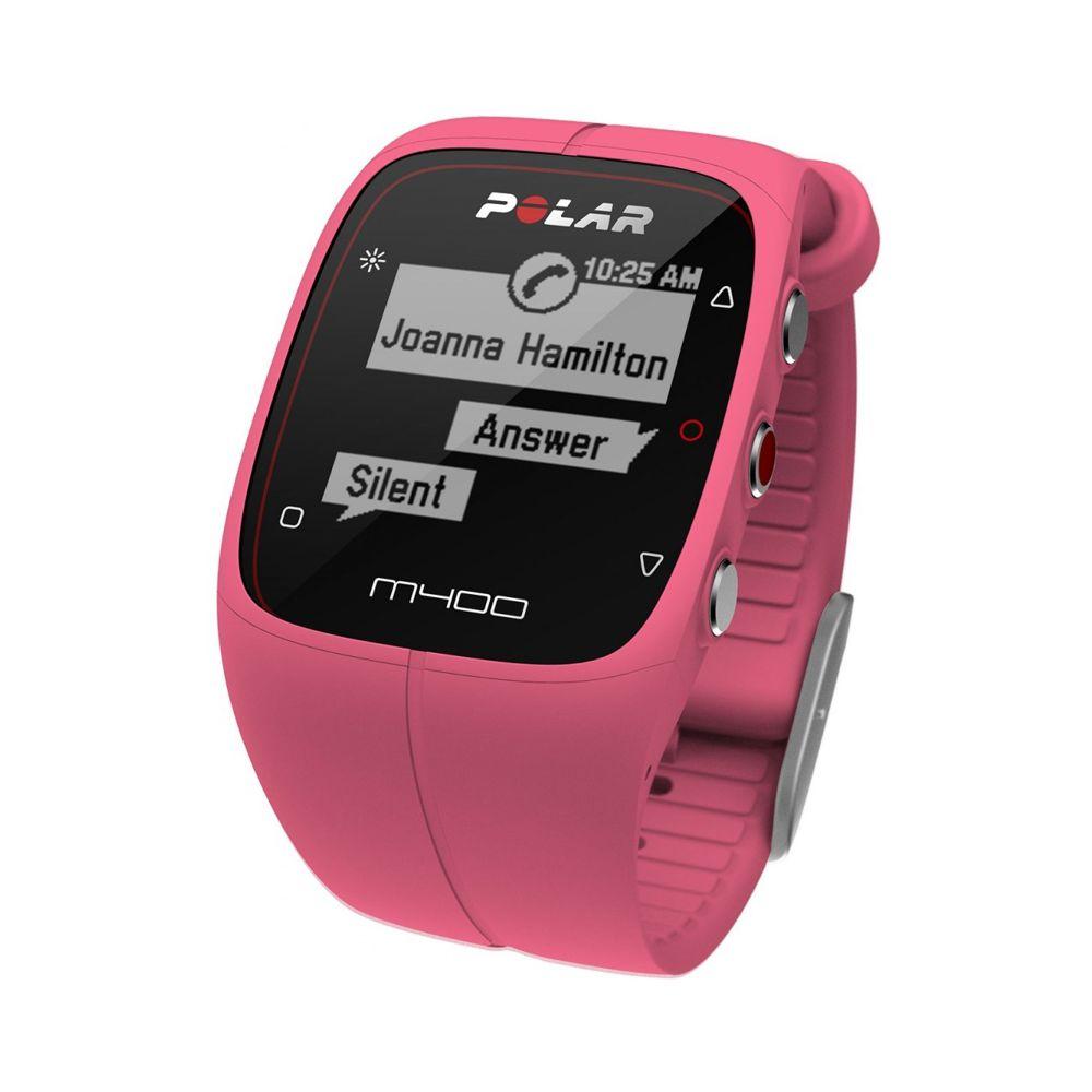 POLAR M400 HR - sportovní hodinky RŮŽOVÉ  3f5625745d2