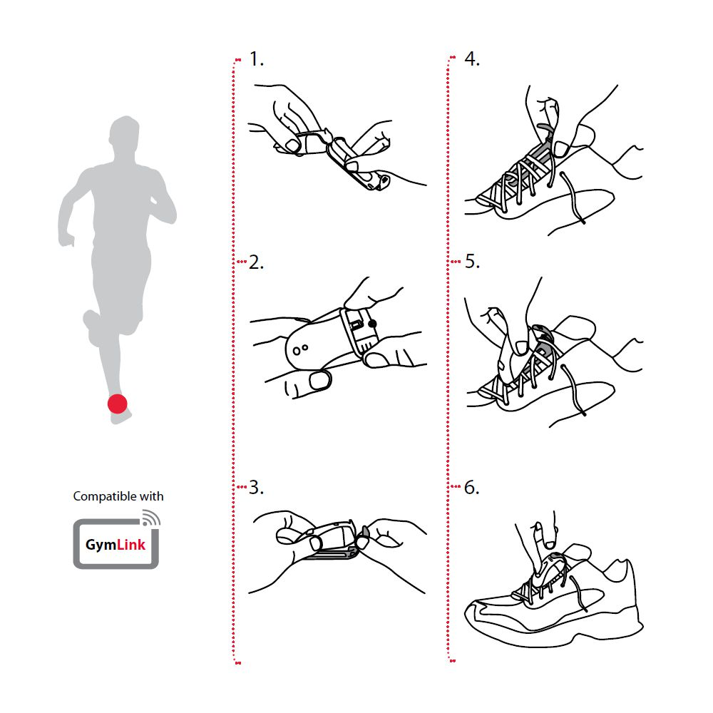 POLAR nožní snímač S1