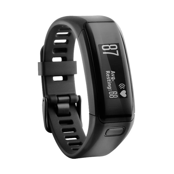 GARMIN VÍVOSMART OPTIC - náramek BLACK (L)