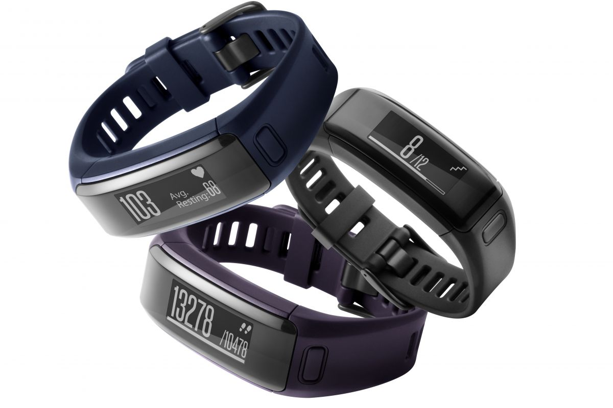 GARMIN VÍVOSMART OPTIC - náramek PURPLE (L)