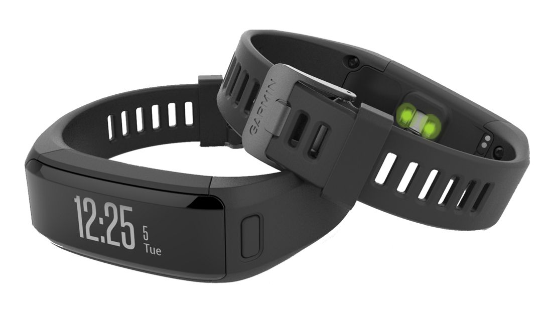 GARMIN VÍVOSMART OPTIC - náramek BLACK (XL)