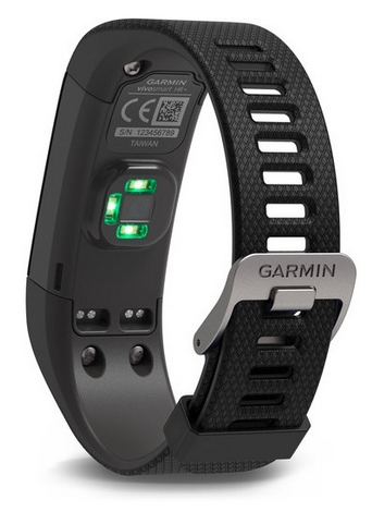 GARMIN VÍVOSMART OPTIC s GPS - BLACK (L)