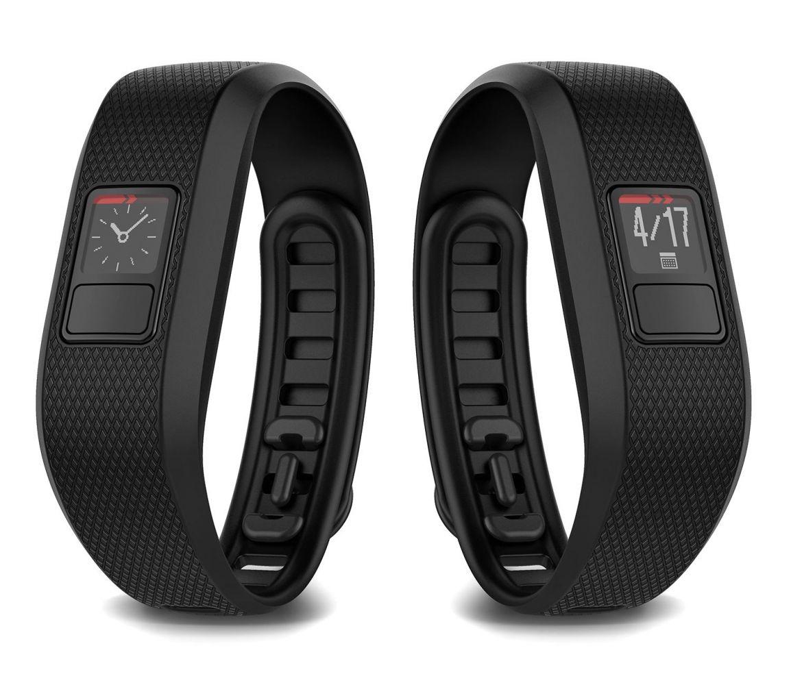 GARMIN VÍVOFIT 3 - fitness náramek BLACK (L)