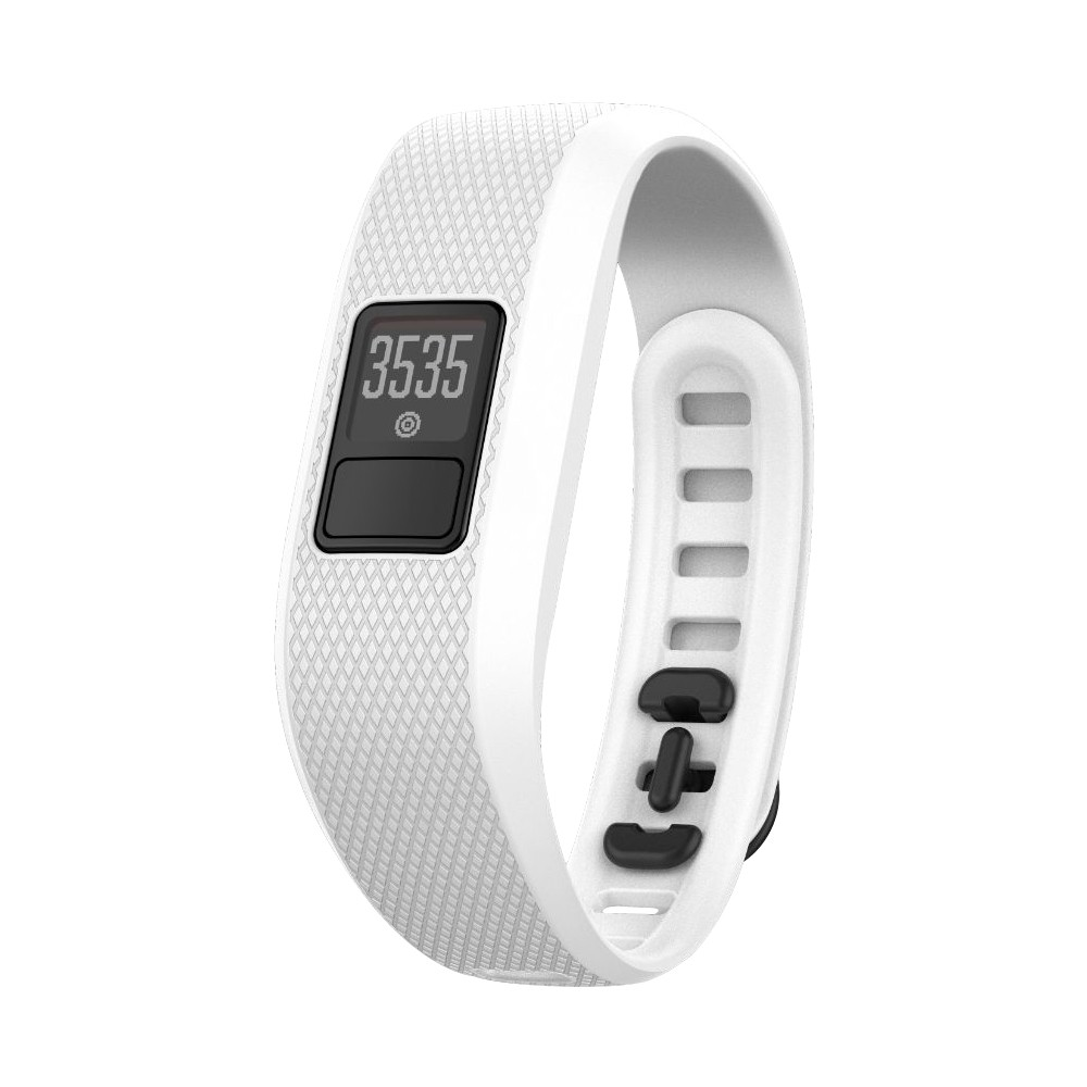 GARMIN VÍVOFIT 3 - fitness náramek WHITE (L)