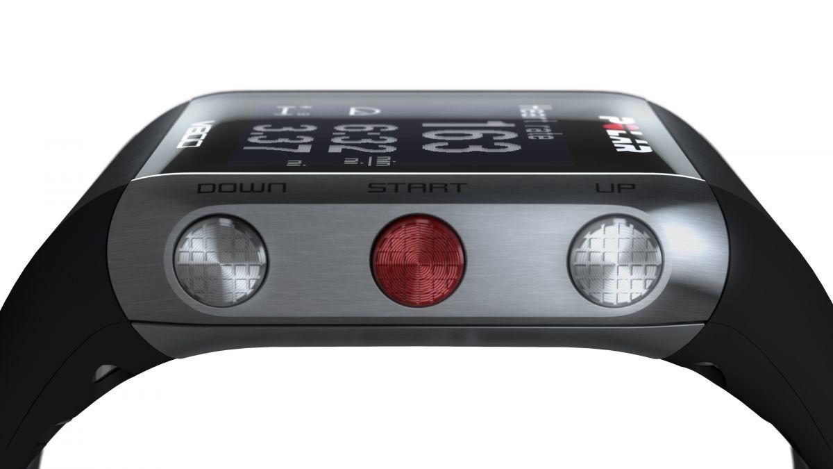 POLAR V800 HR - sportovní hodinky ČERNÉ