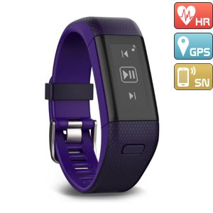 GARMIN VÍVOSMART OPTIC s GPS - PURPLE (L)